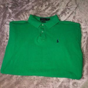 Green Polo Ralph Lauren Short Sleeve